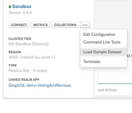 Load Sample Dataset screenshot